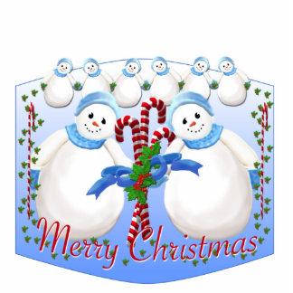 Snow Girl Christmas Ornament