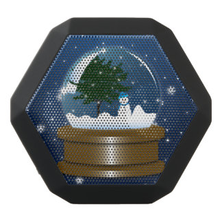 Snow Globe Black Bluetooth Speaker