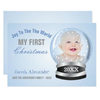 Snow Globe Invitations & Announcements | Zazzle