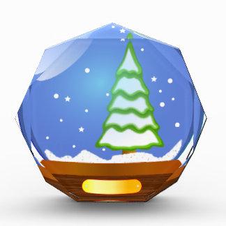 Snow Globe Cartoon Award