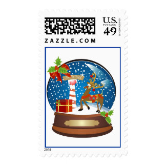 Snow Globe Holiday Cheer Stamps