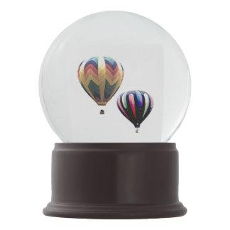 Snow Globe - Hot Air Balloons