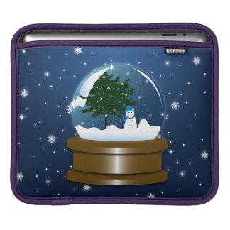 Snow Globe iPad Sleeve