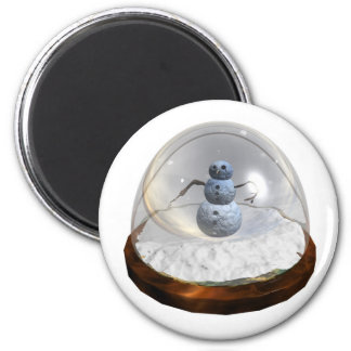 Snow Globe Magnet