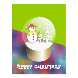 Snow Globe Postcards