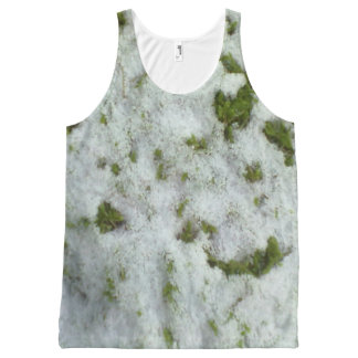 Snow grass All-Over-Print tank top