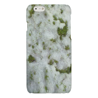 Snow grass glossy iPhone 6 case