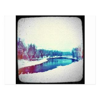 Snow H2O Postcard