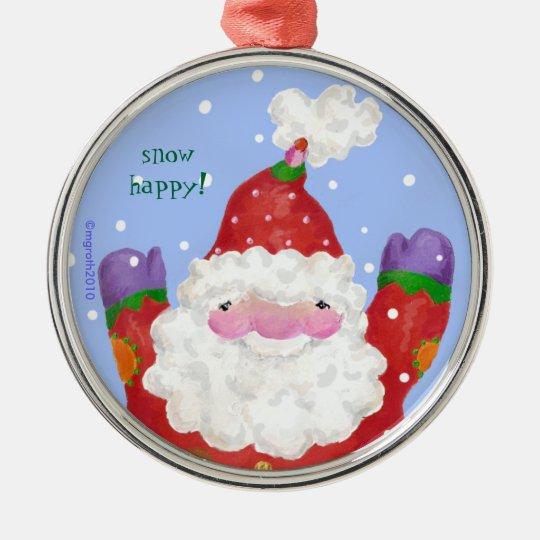 Snow Happy ornament