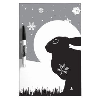 SNOW HARE Dry-Erase WHITEBOARD