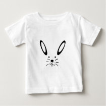 Snow hare/Easter bunny Baby T-Shirt