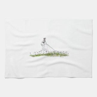Snow Hare Towel