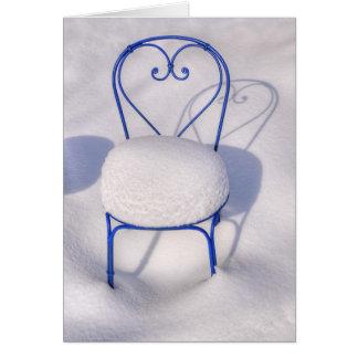 Snow Heart Card