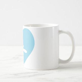 Snow Heart Mug