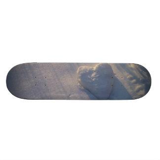 Snow Heart Skateboard Deck