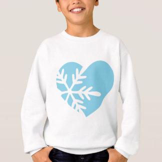 Snow Heart Sweatshirt