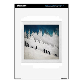 Snow Hike II Decals For iPad 3