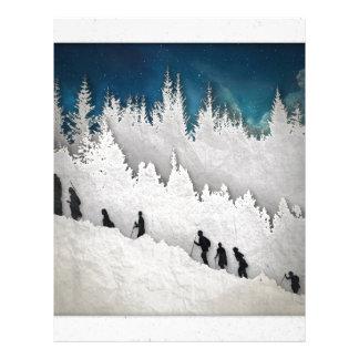 Snow Hike II Letterhead