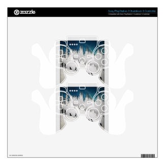 Snow Hike II Skin For PS3 Controller