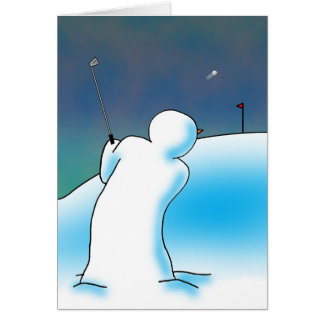Snow Hope Greeting Card
