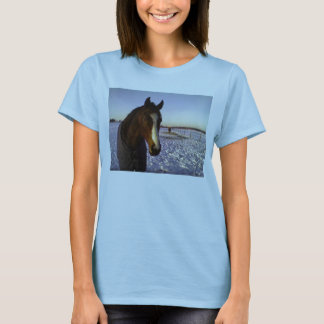 Snow Horse T-Shirt
