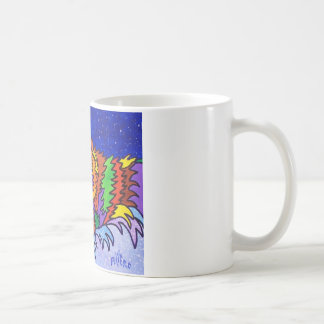 Snow Hunt by Piliero Coffee Mug