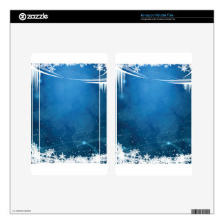 Snow Ice Decal For Kindle Fire