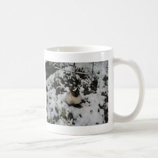 Snow Images, Snow Cat Coffee Mug