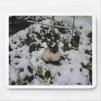 Snow Images, Snow Cat Mouse Pad