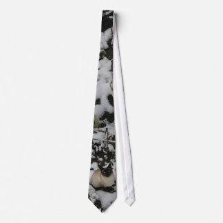 Snow Images, Snow Cat Neck Tie