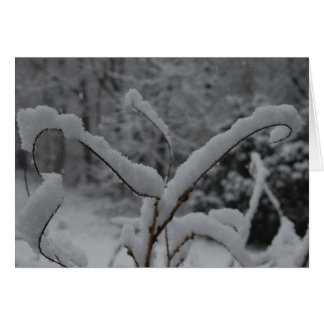 Snow In France Greeting Cards