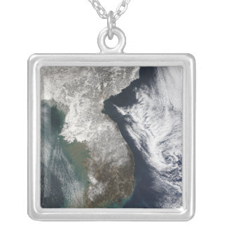 Snow in Korea Silver Plated Necklace