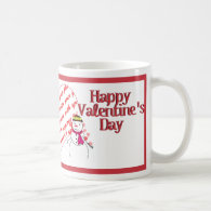 Snow in Love Coffee Mugs