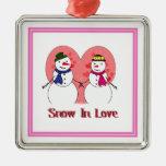 Snow In Love Ornament