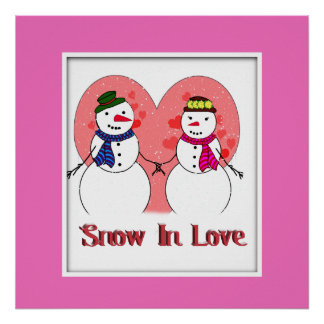 Snow In Love Poster