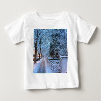 Snow in Montreal Baby T-Shirt