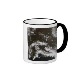 Snow in south central Alaska Ringer Mug