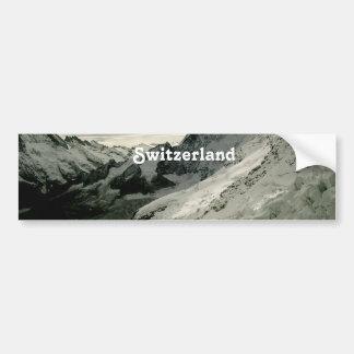 Snow in Switzerland Bumper Stickers