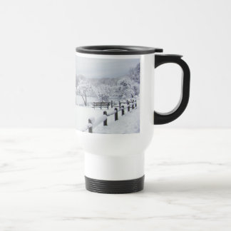 Snow in the Park mug
