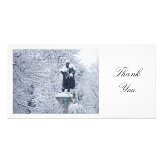 Snow in the Park - Thank You Card