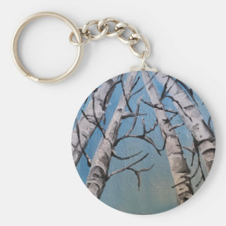 """""""Snow in the Treetops"""" jersey Keychain"""