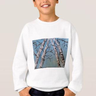 """""""Snow in the Treetops"""" jersey Sweatshirt"""