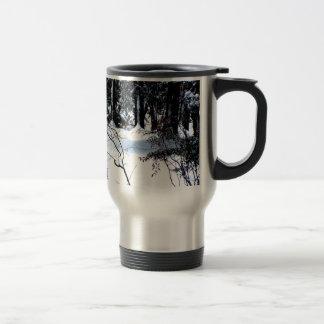 Snow In The Woods Coffee Mug