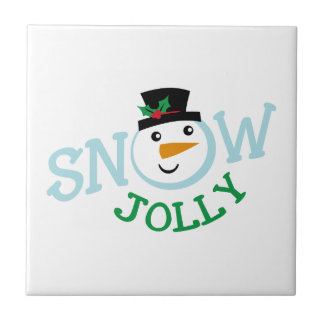 SNOW JOLLY SMALL SQUARE TILE