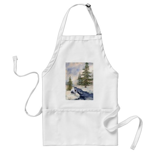 Snow Kees Adult Apron