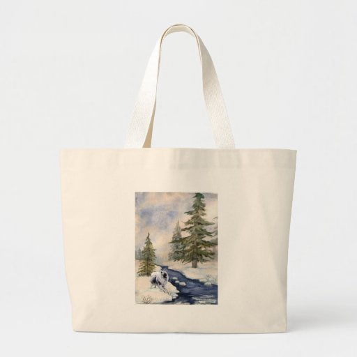 Snow Kees Canvas Bags