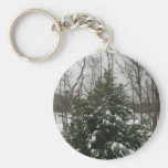 Snow Key Chain
