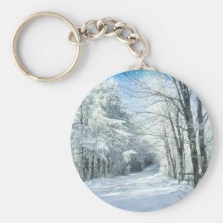 Snow Keychain