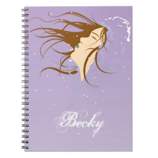 Snow Kissed Angel - Winter's first kiss Note Book