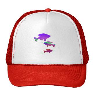 Snow Koi Trucker Hat